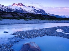 Canada wallpapers - Glacial Pool, Alsek River, Bristish Columbia,