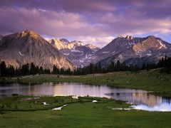 California wallpapers - Pioneer Basin, John Muir Wilderness
