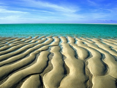 Sand at Low Tide,  Beach, Australia