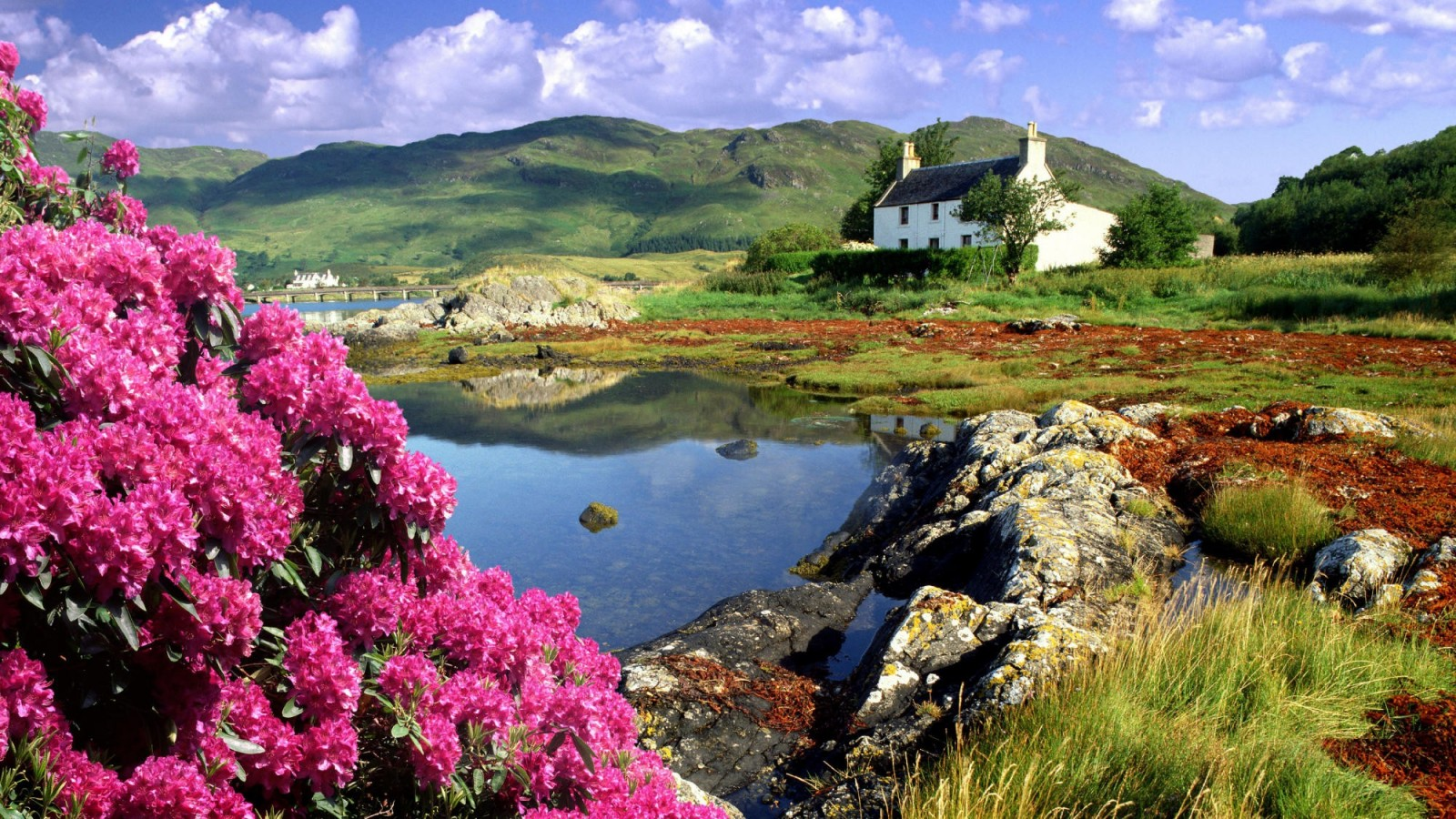 wallpapers-catalogue - scotland beautiful landscape in 1600x900