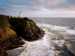 Sea wallpaper - Lighthouse