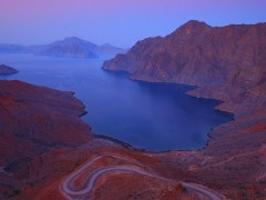 Arabian Peninsula wallpapers - Khor Najd, Near Khasab, Musandam Fjords, Oman,